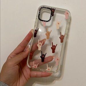 Casetify Rock N Roll Girls iPhone 11 case